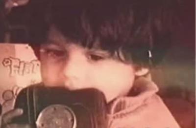 Infant Shahid Kapoor