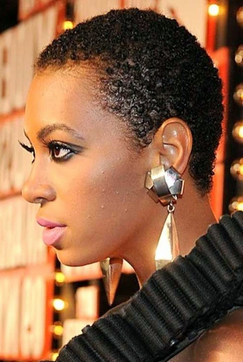 haircuts for black women with short natural hair
