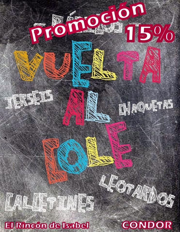 Promoción 15% septiembre