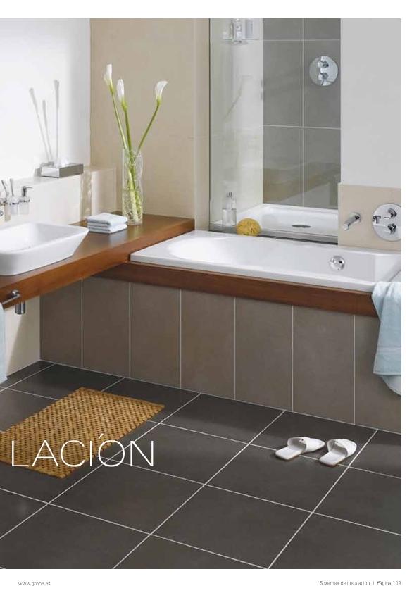 Instalar una ba era ducha o lavabo reformas y Dimensiones de una banera
