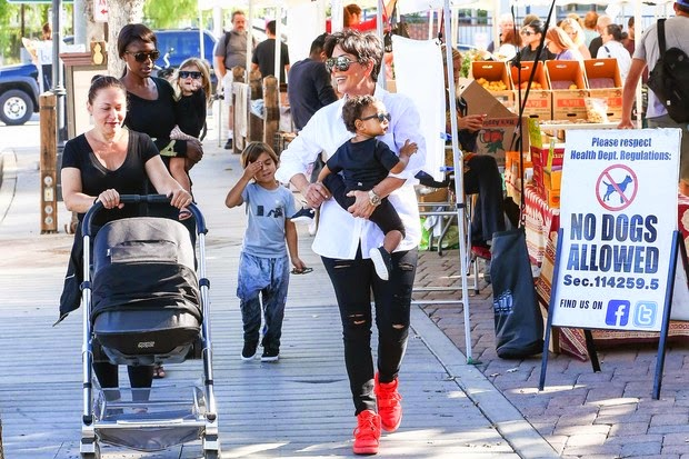 Penelope and Mason, Kourtney children also participated in the program