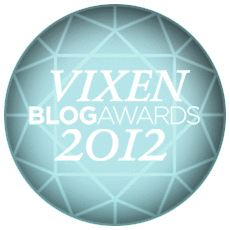 "Finalist som ""rets Interirblogger"" i Vixen BlogAwards!"
