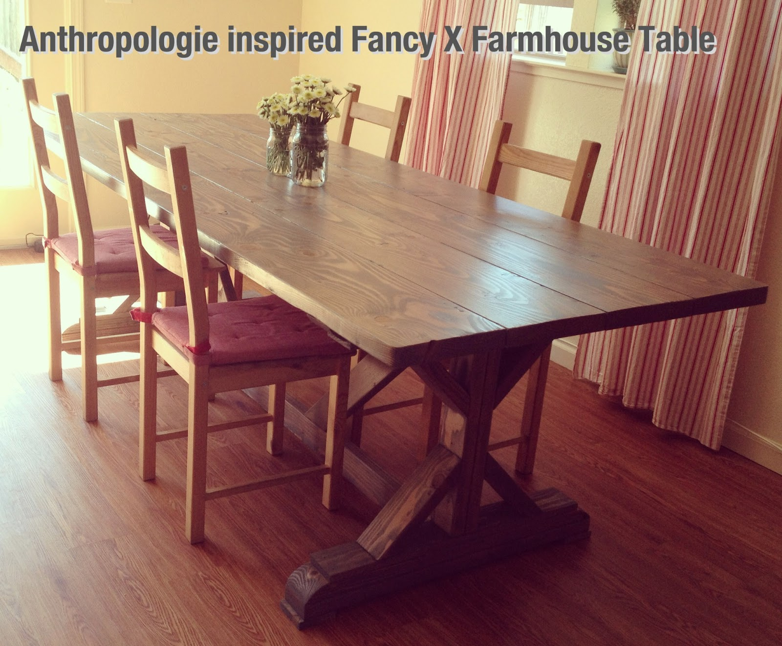 My Wild Thing and Twinkle Toes DIY Farmhouse Table & Benches Part 1