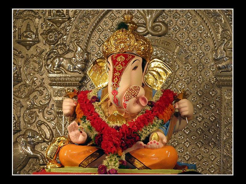 Shri siddhivinayak ganapati ganesha photo images festival chaska - Shri ganesh hd photo ...