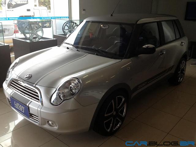 LIfan 320 2013 Mini Cooper chinês - seguro