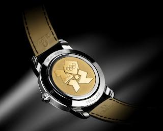 Médaille d'or dos Montre Omega Londres 2012