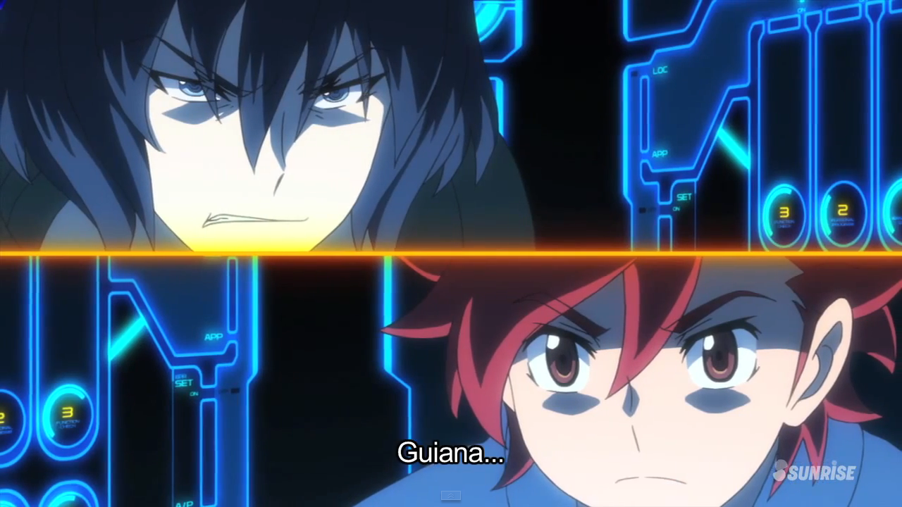Recaap gundam build fighters try episode 19 fateful reunion for Domon vs master asia