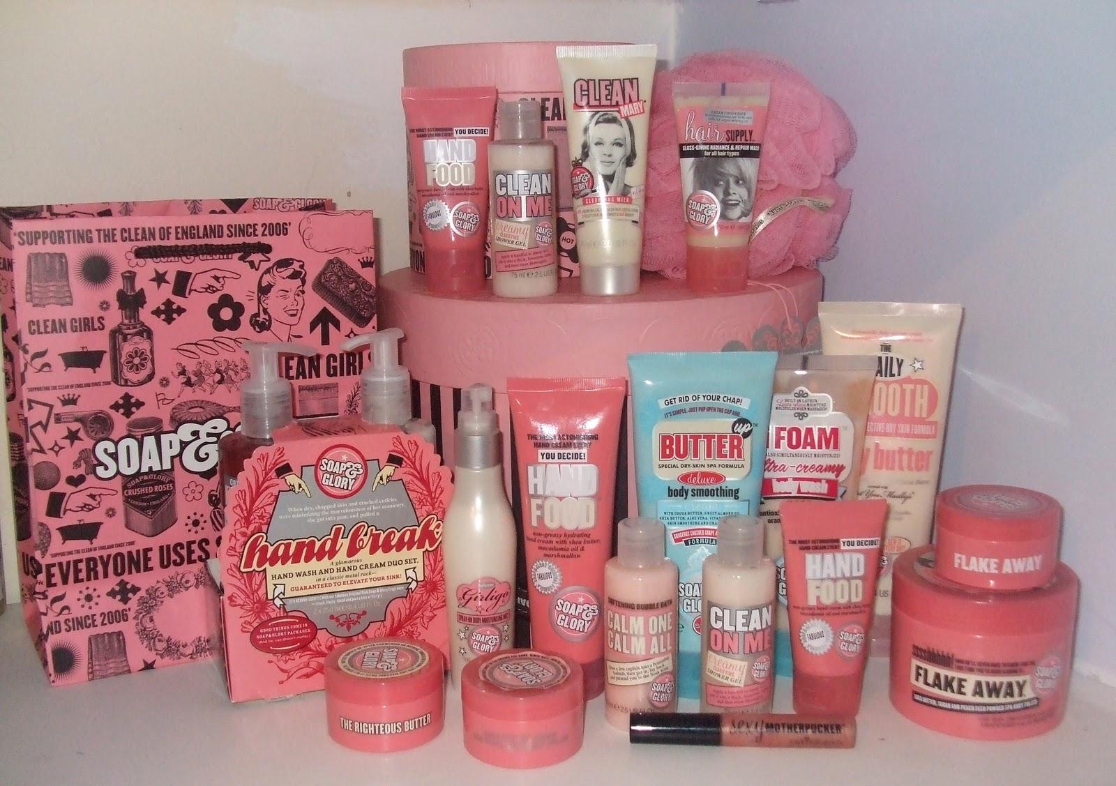 Oficina Feminina: Lista de Desejos: Produtos Soap and Glory