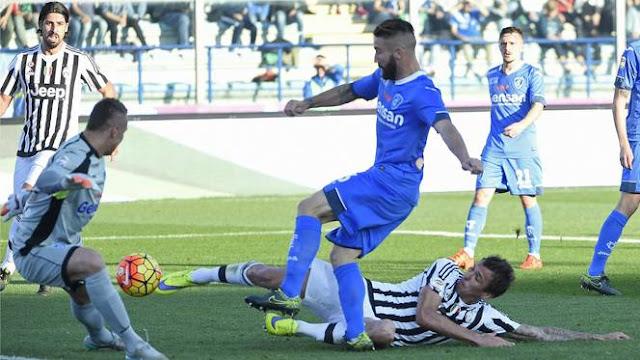 Hasil laga Empoli 1-3 Juventus