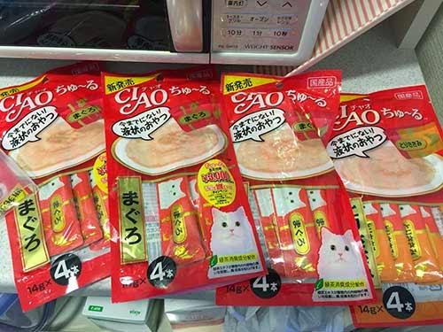 大人買いしたCIAOちゅ〜る