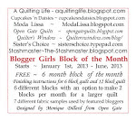 Blogger Girls Block of the Month