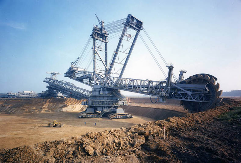 Bagger 288: El más grande Vehículo terrestre en el Mundo