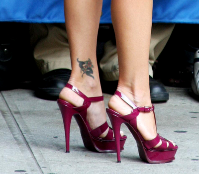 female ankle tattoos. Ankle tattoo Tribal Tattoos