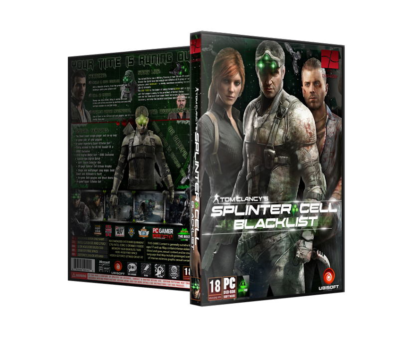 Capa Splinter Cell Blacklist PC