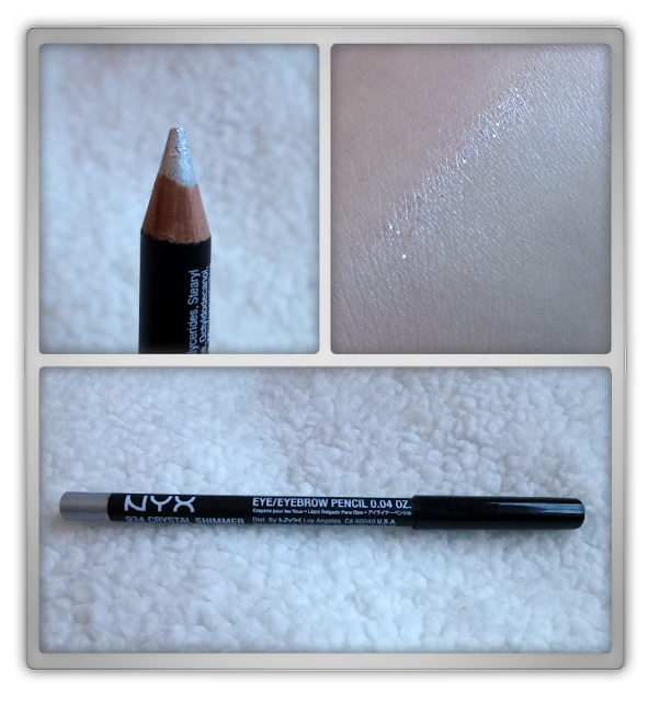 NYX - Eye/eyebrow pencil - 934 Crystal shimmer