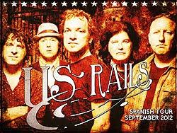 US Rails de gira en España en Septiembre