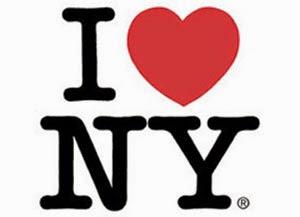 Graphic Designers 'I Love NY' Logo