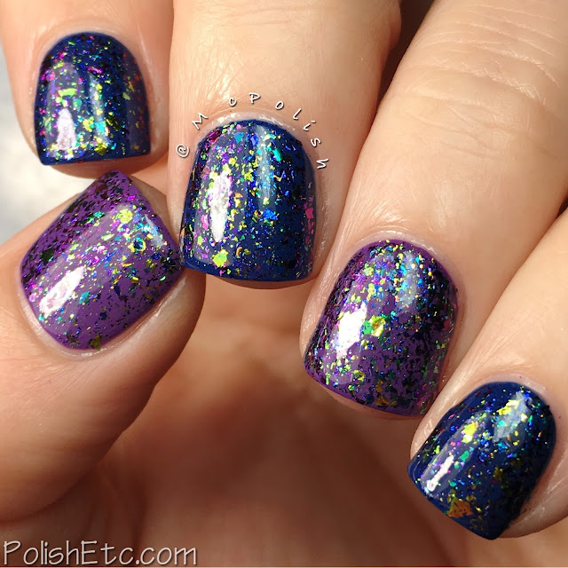 Glitter Daze - Flora Noxia Collection - McPolish - Salvia Divinorum