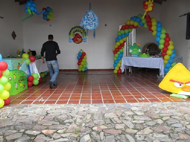 FIESTA TEMATICA ANGRY BIRDS MEDELLIN | Fiestas tematicas ...