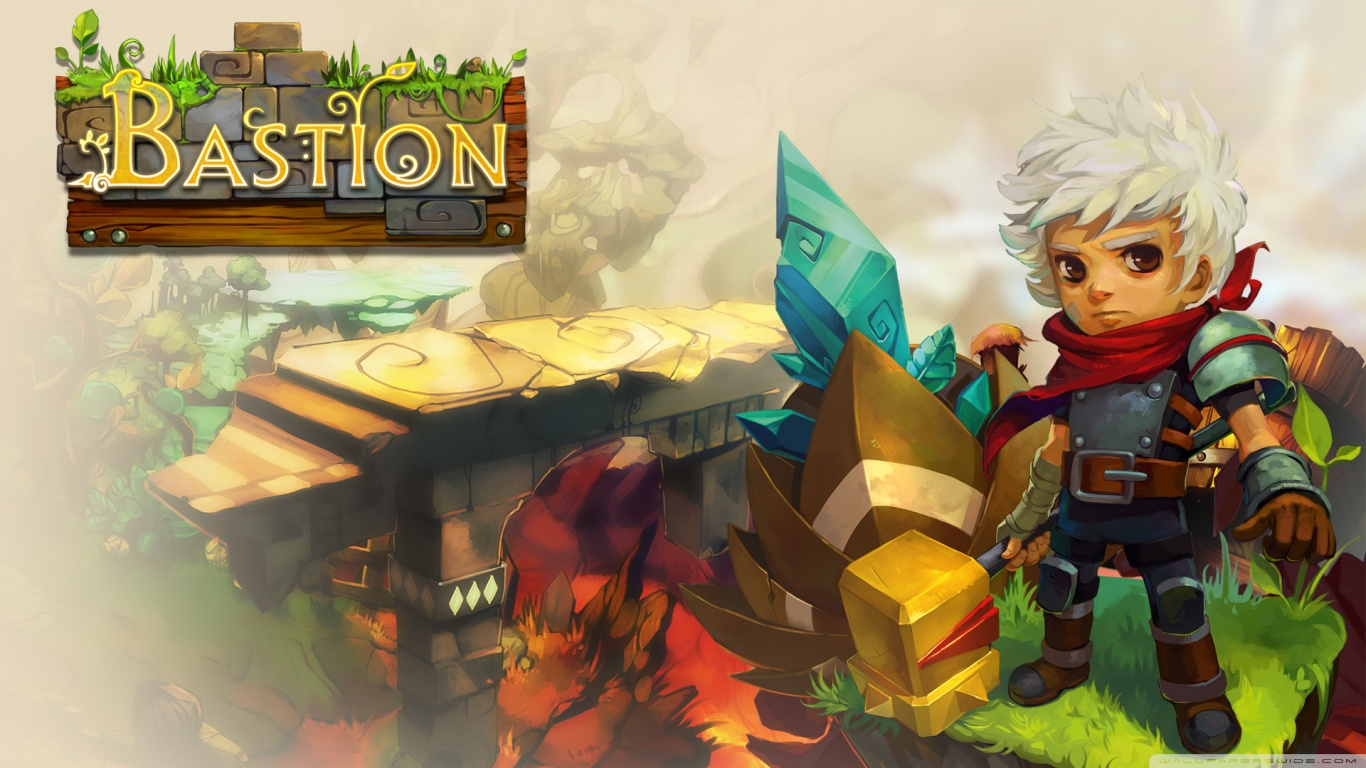 Fun idea for discussion smash style game with existing indie characters wishful thinking - Bastion wallpaper ...