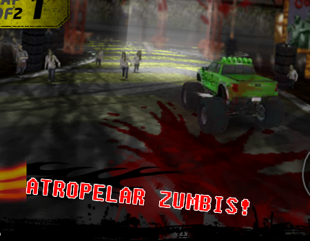 Jogos de carro e zumbi: Dead Tread. Jogos de atropelar zumbi, jogo de zumbi em 3D online.