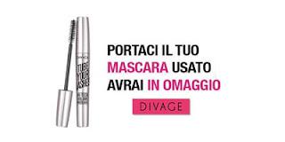 Mascara Divage in omaggio portanto mascara usato