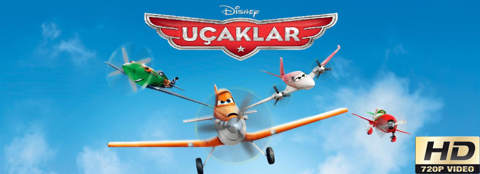 Uçaklar - Planes 2013 720p HD Türkçe Dublaj Film İndir