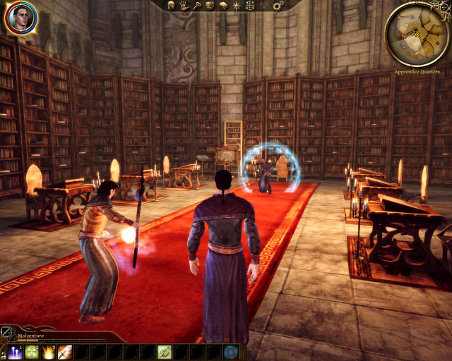 Dragon Age Origins Mage tower library