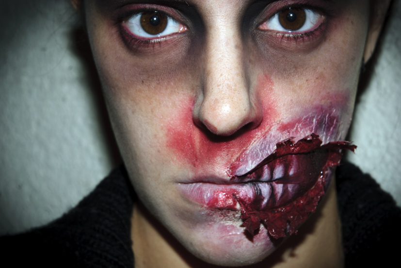Maquillaje Halloween 5 Zombie FX efectos especiales | SQ Beauty
