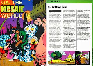 Oa (Mundo Mosaico) Ficha DC Comics