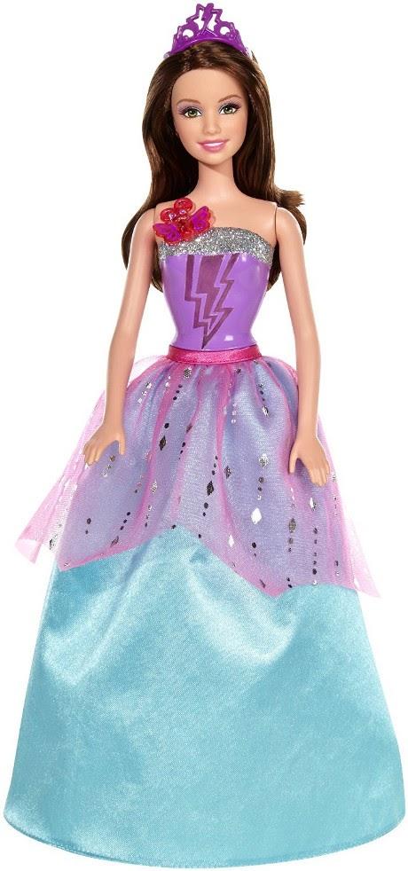 JUGUETES - BARBIE In Princess Power - Corinne | Muñeca   Producto Oficial 2015 | Mattel CDY62 | A partir de 3 años