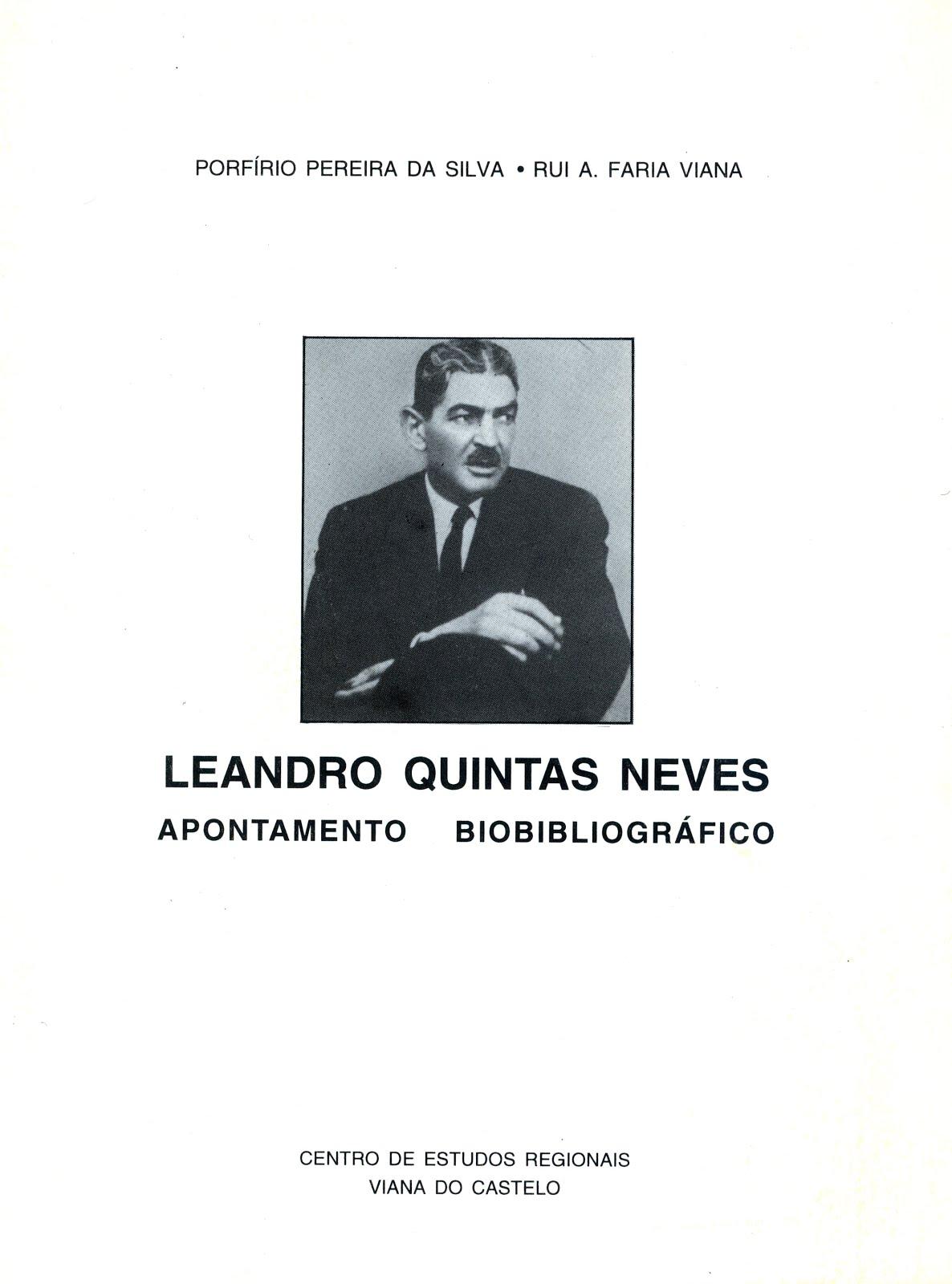 LEANDRO QUINTAS NEVES (APONTAMENTO BIOBIBLIOGRÁFICO)