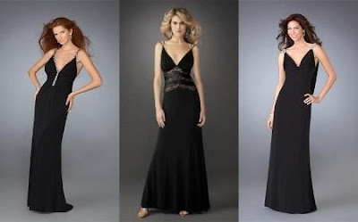 Atuendos negros a la moda