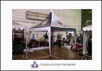 Pabrik, Tempat, Produksi, Pembuat Tenda promosi kerucut