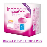 Ofertas Indasec - INDASEC PANT PLUS 12 unidades + 6