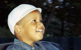 barack obama in small age