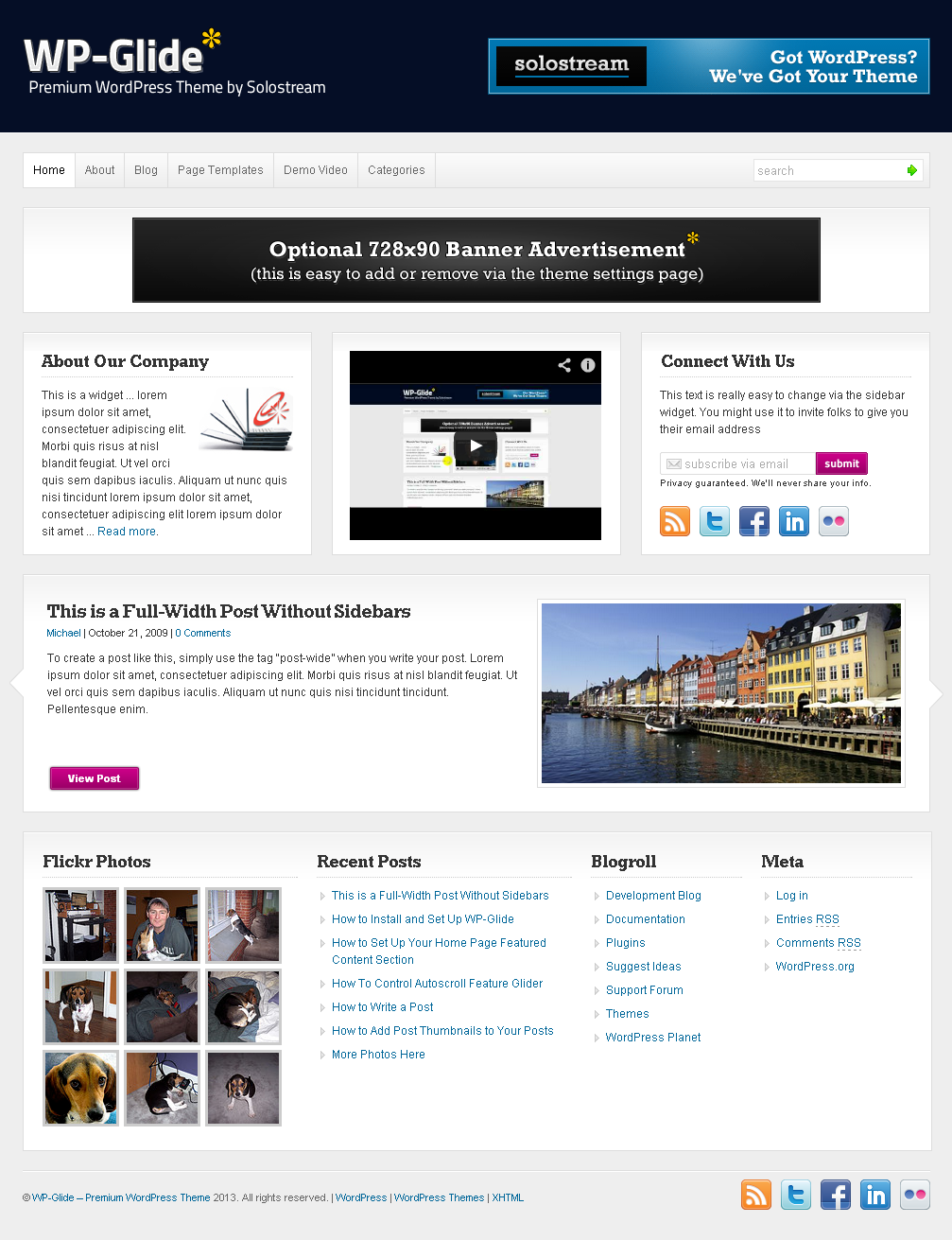 WP Glide – Premium WordPress Theme