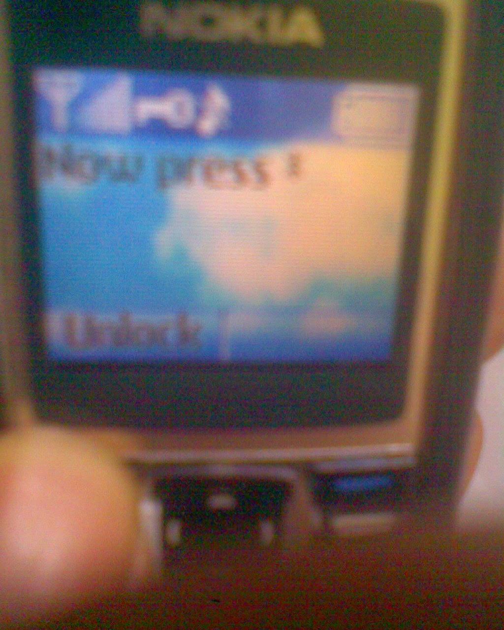 Menjebol Kode Keamanan Nokia  1600 | 2600 |1110i | 1200 | 1202 | 1208