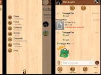 BBM Mod Windows Phone Tema Wood 2.8.0.21 APK
