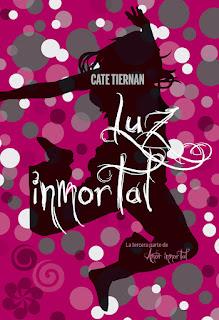 Luz inmortal de Cate Tiernan