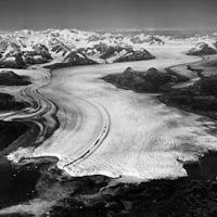 Columbia glacier, el glaciar más rápido