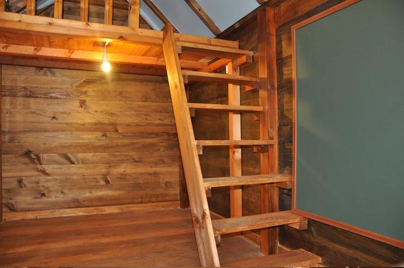 Como fabricar escaleras de madera good como hacer una for Como hacer una escalera para entrepiso