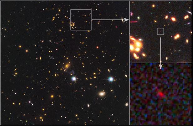 Cientistas descobrem galáxia que pode ser a mais distante já vista