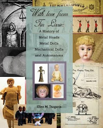 Our New Book on Metal Dolls; The First Book on the Topic