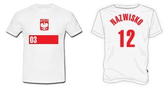 koszulka reprezentacji Polski z nazwiskiem