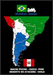 Mapa da Viagem projeto 2011