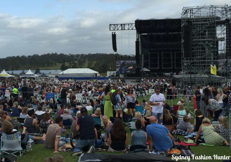 Cold Chisel Concert Crowd