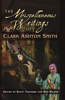 The Miscellaneous Writings of Clark Ashton Smith, 2011, copertina