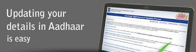 Updating your details in Aadhaar