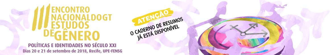 III Encontro Nacional do GT de Estudos de Gênero